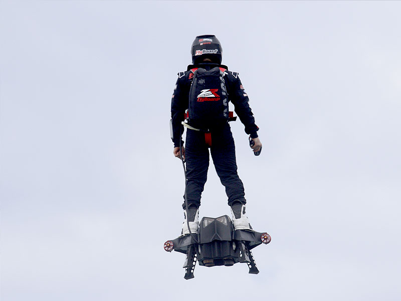 Flyboard Air: A New World Record